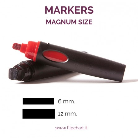 Giant Markers MAGNUM Size for flipcharts