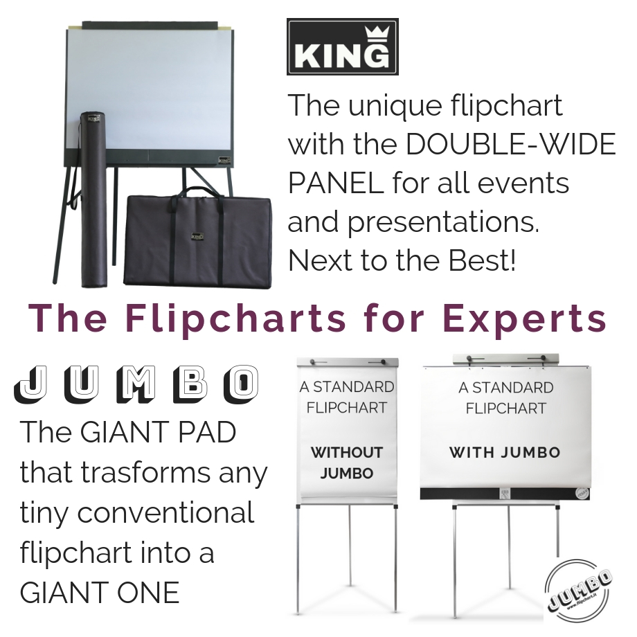 Double Wide Giant Flipcharts for Experts and Coaches